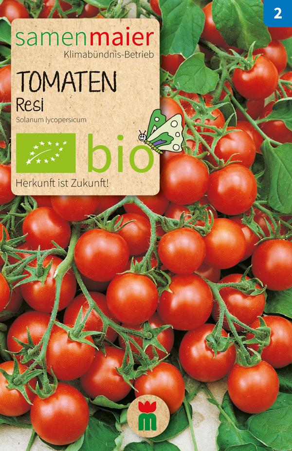 Bio Tomate Resi von Samen Maier