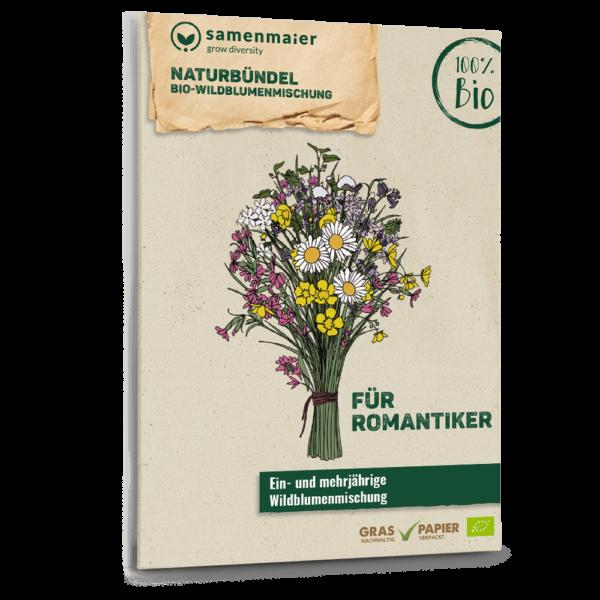 Bio Naturbündel Wildblumen Saatgut für Romantiker von Samen Maier