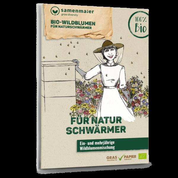 Bio Wildblumen Saatgut für Naturschwärmer von Samen Maier