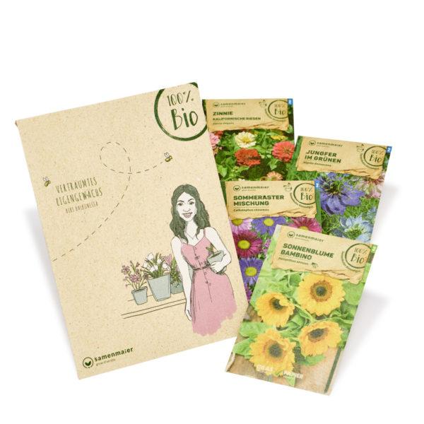 """Bio Blumen Set """"Bibi Balkonessa"""" von Samen Maier"""