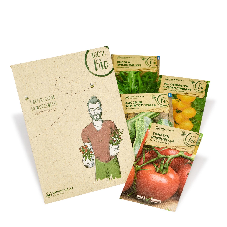 """Bio Urban Gardening Set """"Quentin Terrassino"""" von Samen Maier"""