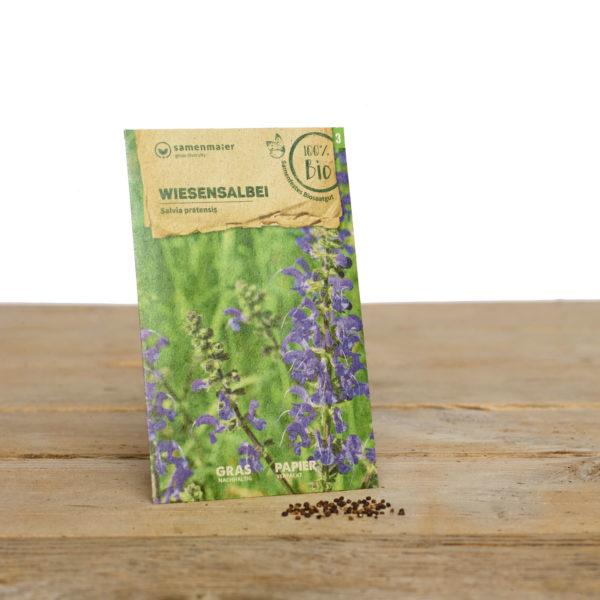 Bio Wildblumen Saatgut Wiesensalbei von Samen Maier