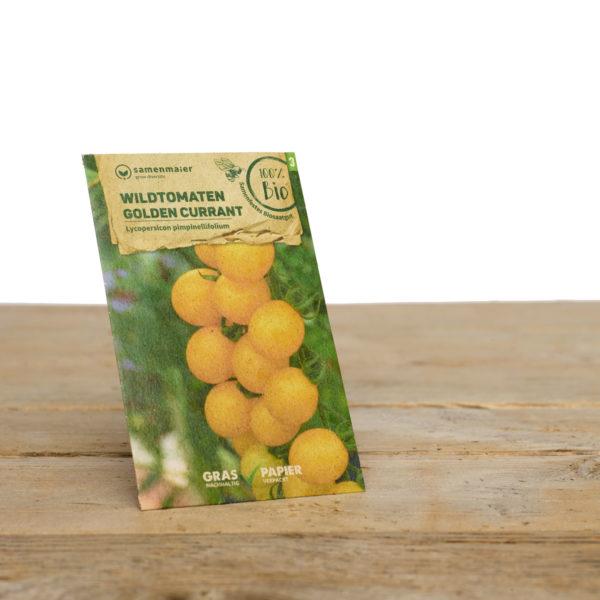 Bio Saatgut Wildtomaten Golden Currant von Samen Maier