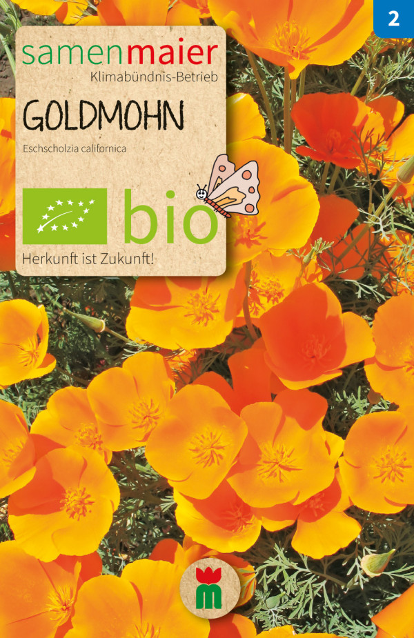 BIO Goldmohn - Eschscholzia californica