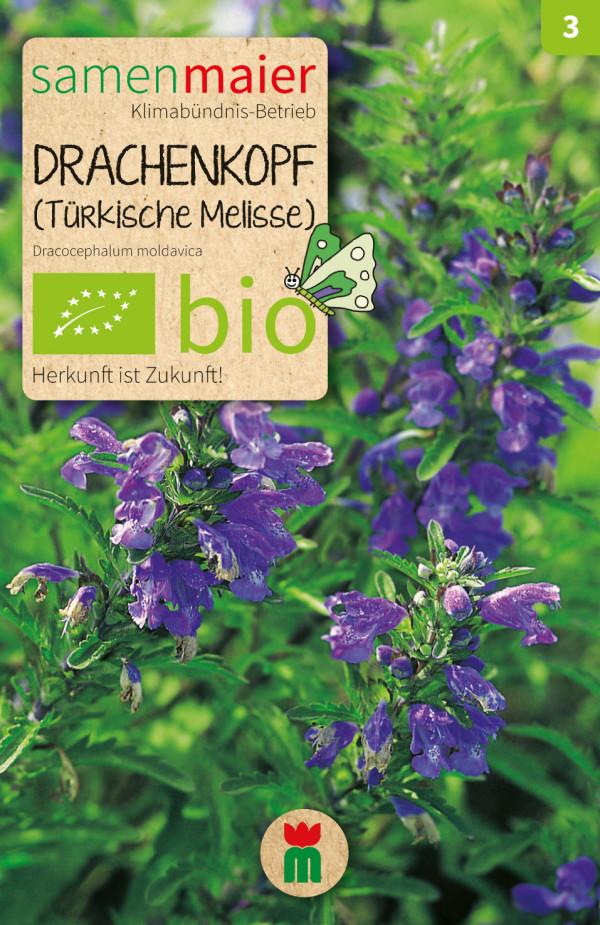 BIO Drachenkopf Tuerkische Melisse - Dracocephalum moldavica