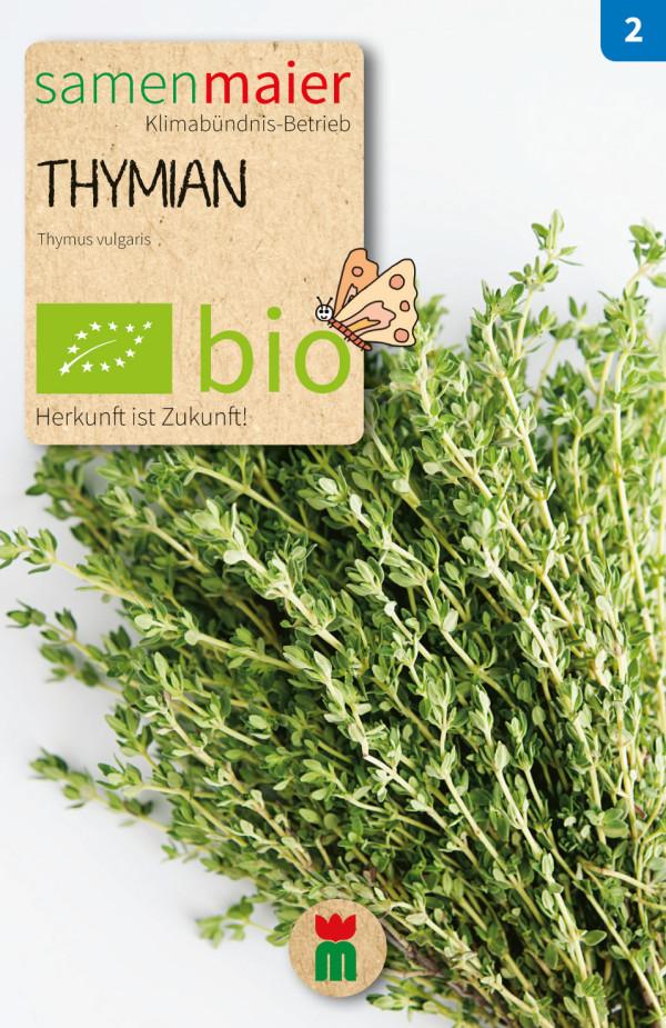 BIO Thymian - Thymus vulgaris