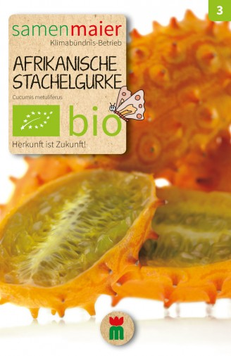 BIO Afrikanische Stachelgurke - Cucumis metuliferus