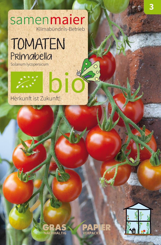 Prächtig Bio Tomaten Primabella | Samen Maier #UQ_38