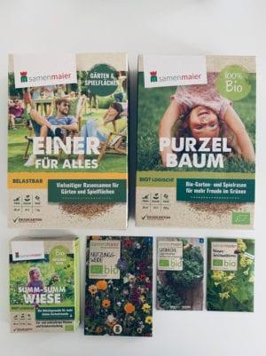 Samen-Maier-Graspapier-Verpackung