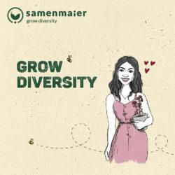 """Grow Diversion Geschenkgutschein """"Bibi Balkonessa"""" von Samen Maier"""