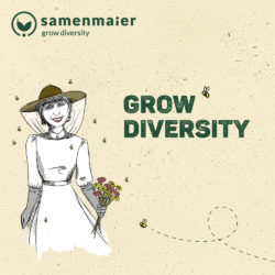 """Grow Diversity Geschenkgutschein """"Bine Maier"""" von Samen Maier"""