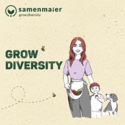 """Grow Diversity Geschenkgutschein """"Cameron Gmias"""" von Samen Maier"""