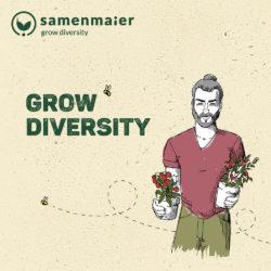 """Grow Diversity Geschenkgutschein """"Quentin Terrassino"""" von Samen Maier"""